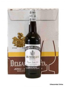 Spanish Wine Amontillado Sherry case